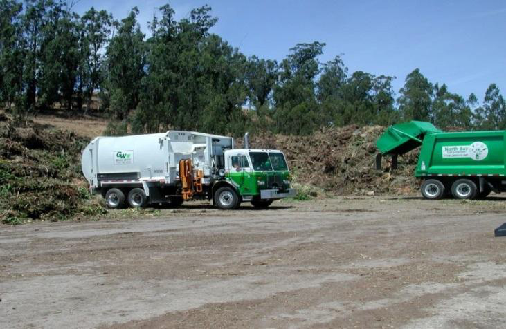 Haul waste to site picture